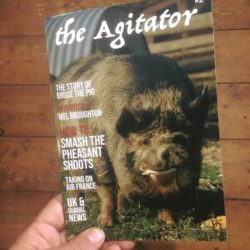 Photo of the magazine called The Agitator