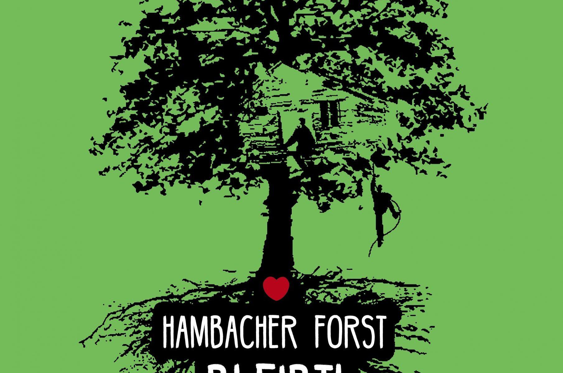 Hambacher Forst Poster