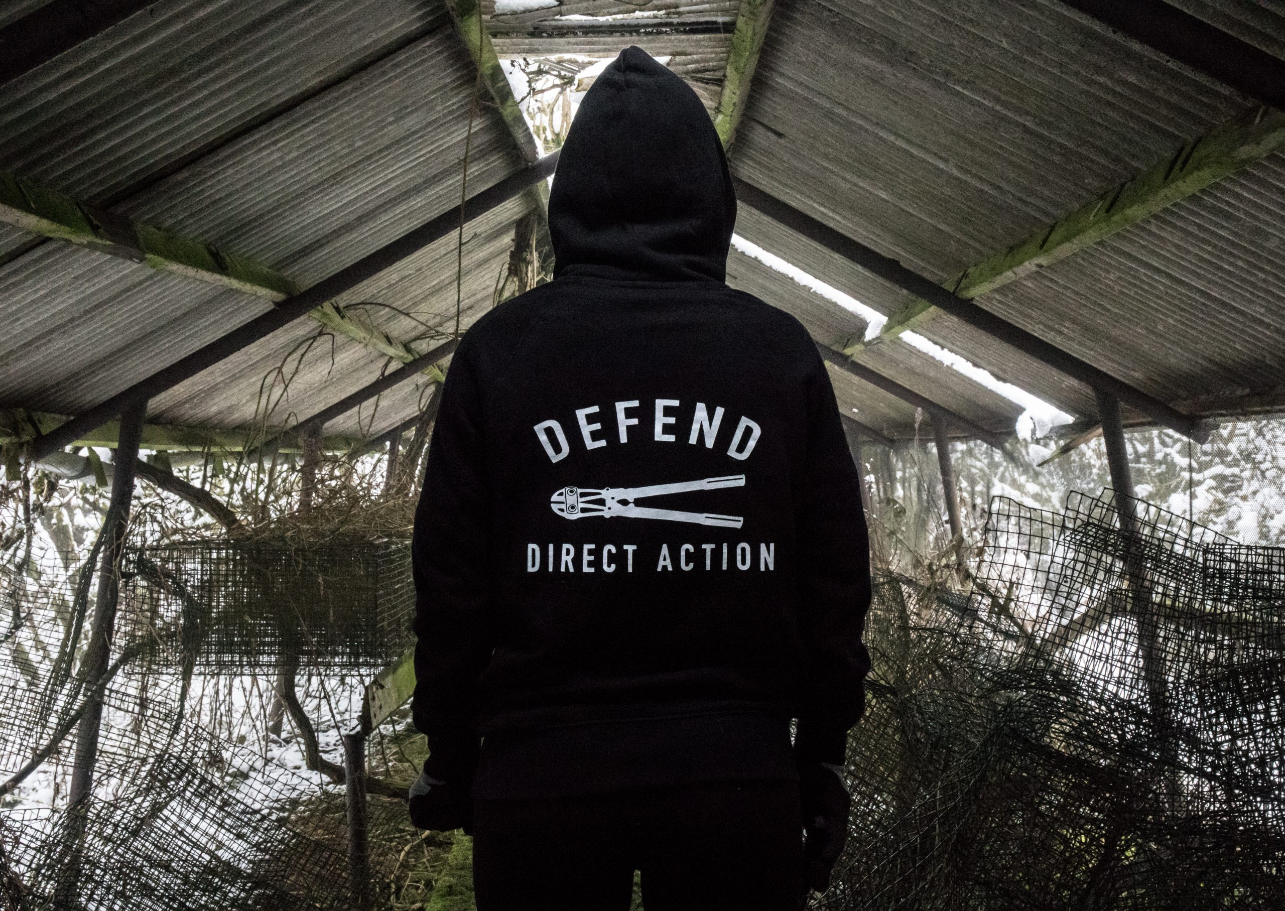 Defend Direct Action - Hoodie
