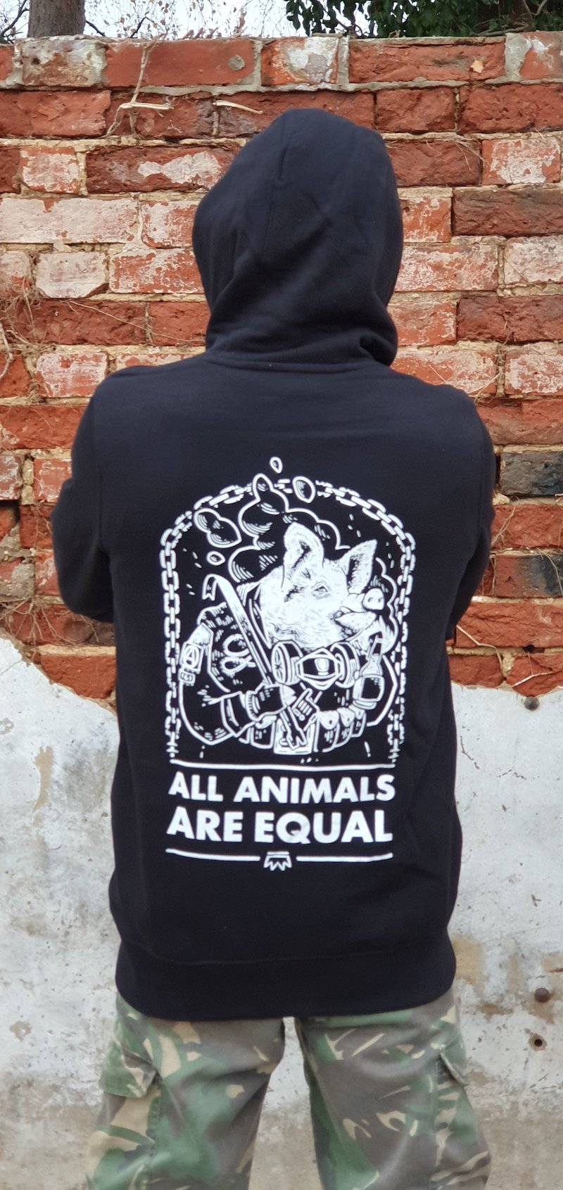 All Animals Are Equal - Hoodie